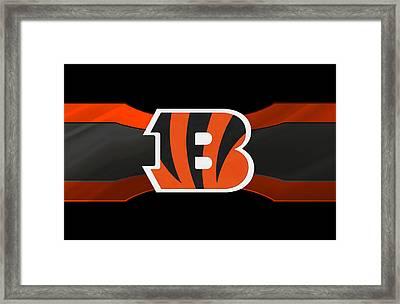 Cincinnati Bengals Framed Print