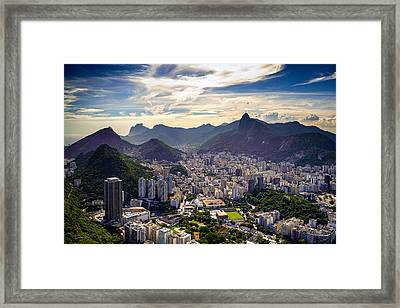 Cityscape Framed Print by Celso Diniz