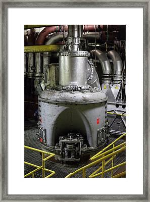 Coal-fired Power Station Framed Print