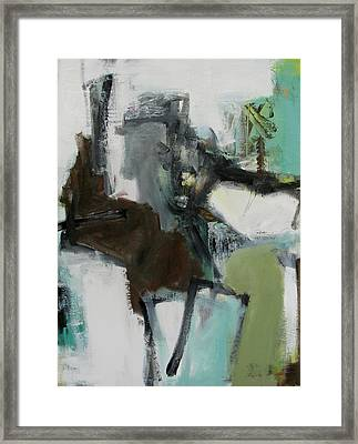 Figure Framed Print by Fred Smilde