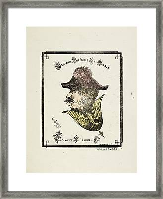 French Caricature Framed Print by British Library