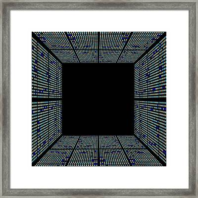 Genetic Research Framed Print by Pasieka
