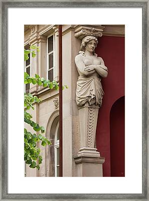 Germany, Baden-wurttemburg Framed Print by Walter Bibikow