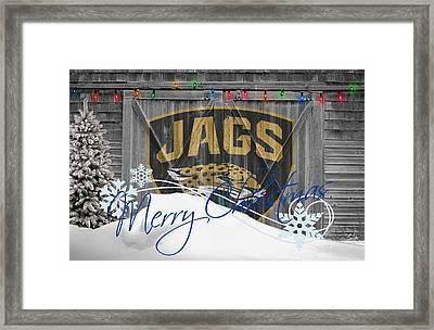Jacksonville Jaguars Framed Print