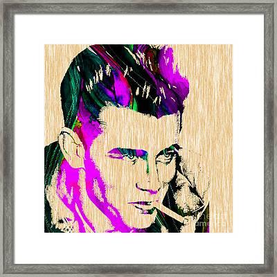 James Dean Collection Framed Print