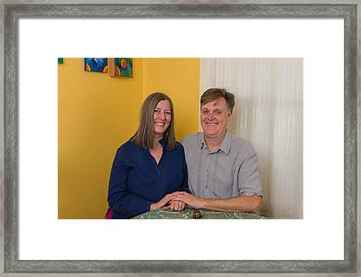 Kathy And Allan Framed Print