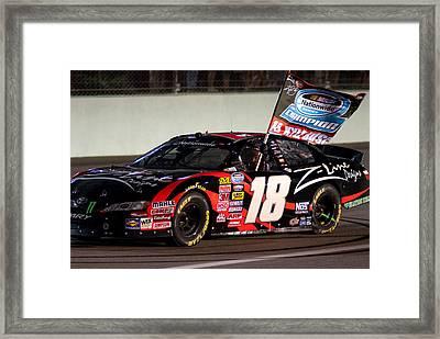 18 Kyle Busch Framed Print
