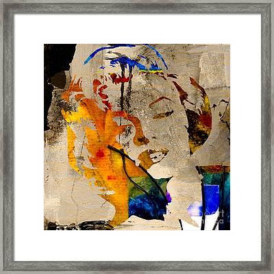Marilyn Monroe Framed Print by Marvin Blaine