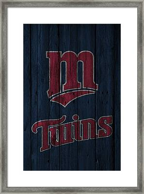Minnesota Twins Framed Print by Joe Hamilton