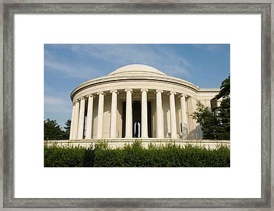 Washington Dc, Usa Framed Print by Lee Foster
