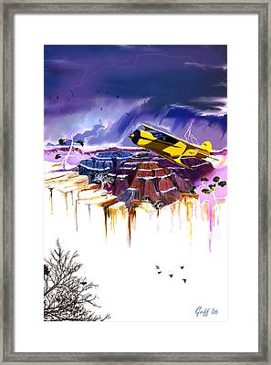 180 Framed Print by J Griff Griffin