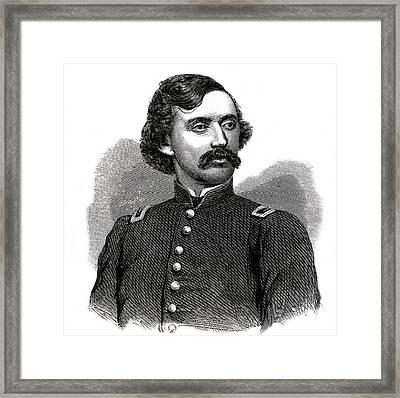 1800s 1860s Portrait Union Colonel Framed Print