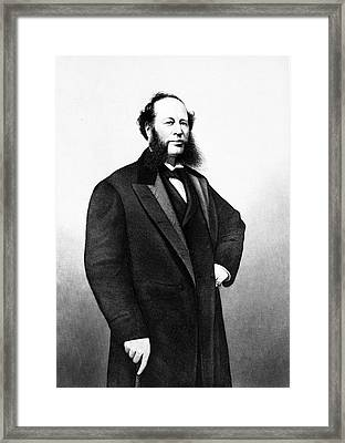 1800s Mid-19th Century Standing Framed Print