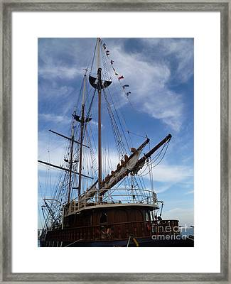 1812 Tall Ships Peacemaker Framed Print