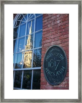 1817 Portsmouth Framed Print