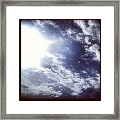 #fridays #loveasunburntcountry Framed Print