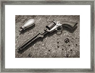 1851 Navy Revolver 36 Caliber - 2 Framed Print by Mike McGlothlen