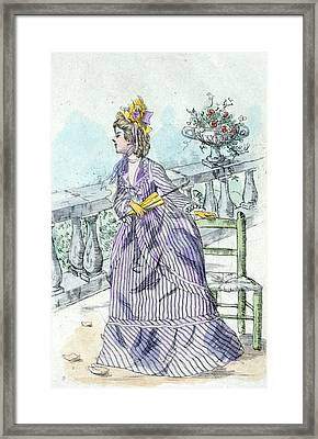 1871, Womens Fashion In Nineteenth-century Paris Framed Print