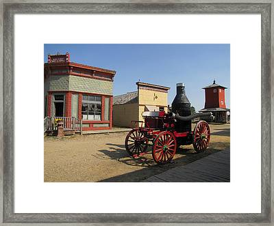 1880 Ghost Town South Dakota 4635 Framed Print