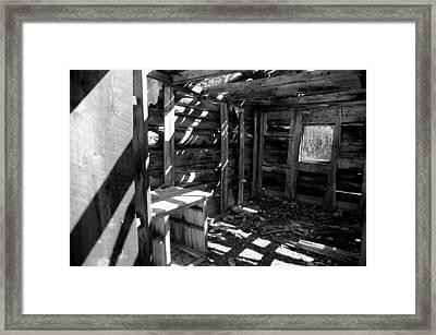1880's Cabin Framed Print