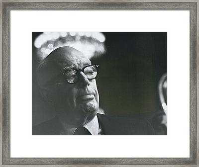 Tony Stephens  Framed Print by Retro Images Archive