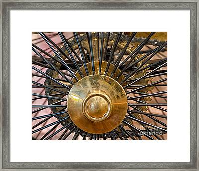 Framed Print featuring the photograph 1885 Benz  by JRP Photography