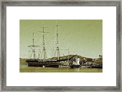 1886 Balclutha Framed Print