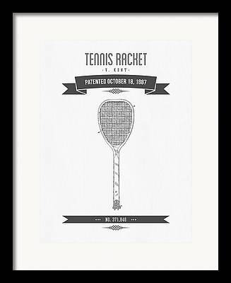 Racket Mixed Media Framed Prints