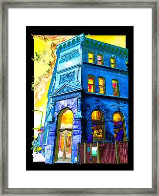 18th And Canal Framed Print