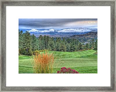 18th At The Ridge Framed Print