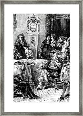 18th Century Anatomy Lesson Framed Print by Collection Abecasis