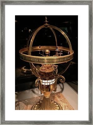 18th Century Astronomical Clock Framed Print