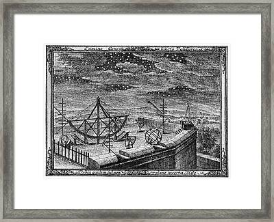 18th Century Observatory Framed Print by Cci Archives