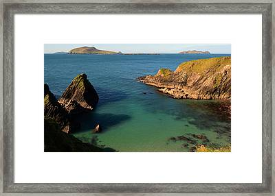 Blasket Islands Framed Print