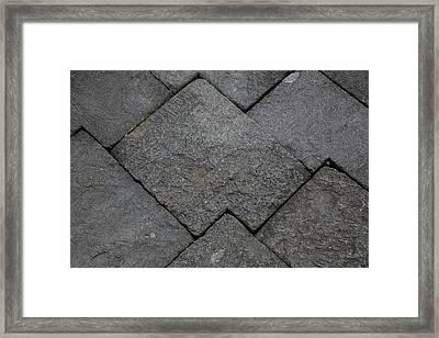 Borobudur, Java, Indonesia Framed Print by Charles O. Cecil