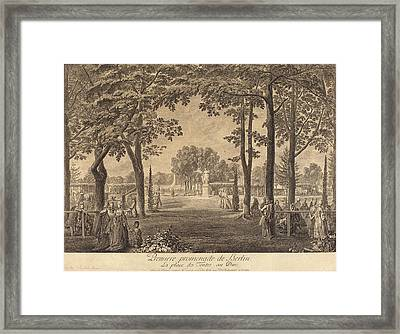 Daniel Nikolaus Chodowiecki German, 1726 - 1801 Framed Print by Quint Lox
