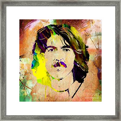 George Harrison Collection Framed Print
