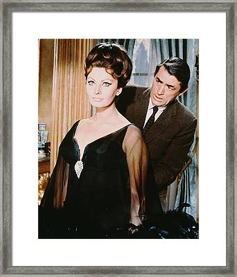 Gregory Peck Framed Print by Silver Screen
