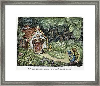 Grimm Hansel And Gretel Framed Print