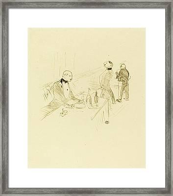 Henri De Toulouse-lautrec French, 1864 - 1901 Framed Print by Quint Lox