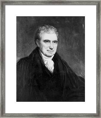 John Marshall (1755-1835) Framed Print
