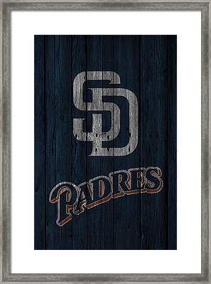 San Diego Padres Framed Print by Joe Hamilton