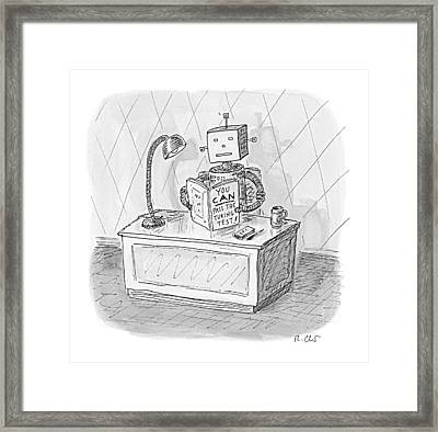 New Yorker March 6th, 2017 Framed Print by Roz Chast