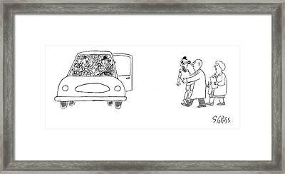 New Yorker November 6th, 2006 Framed Print by Sam Gross