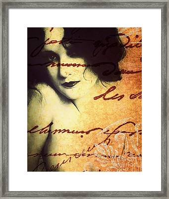 Winsome Women Framed Print by Chris Andruskiewicz