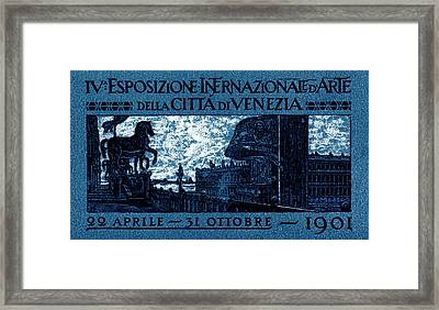 1901 Venice International Arts Exposition Framed Print by Historic Image