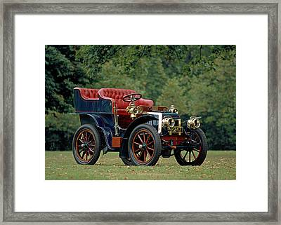1902 Panhard Et Levassor 7 Hp Rear Framed Print
