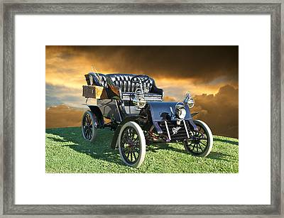 1903 Cadillac A Tonneau Framed Print