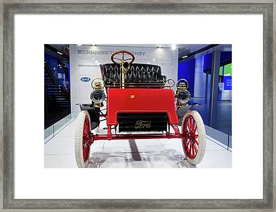 1903 Ford Model A Framed Print by Jim West