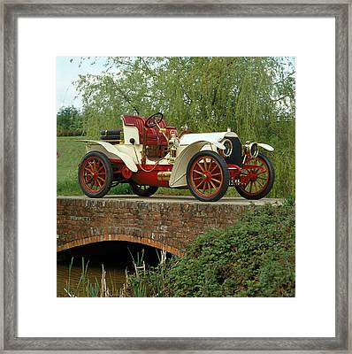 1903 Mercedes Simplex Sixty 2-seat Framed Print by Panoramic Images